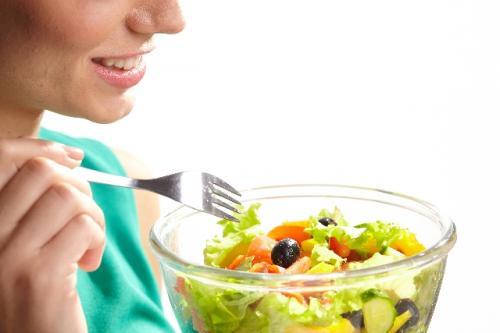 サラダで健康