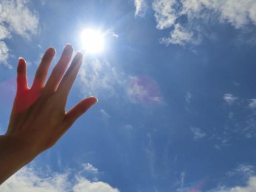 夏の紫外線