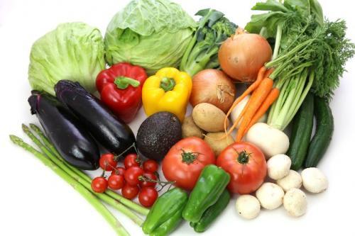 健康な野菜
