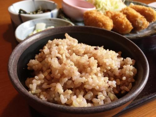 雑穀米ごはん